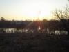 весенний закат