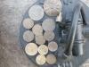 находки монет с металлодетектором