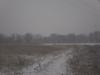 снег идет на огороды