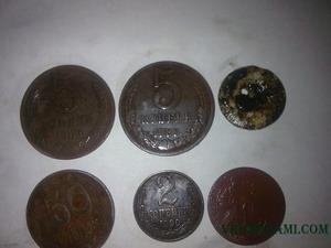 первые найденные монеты