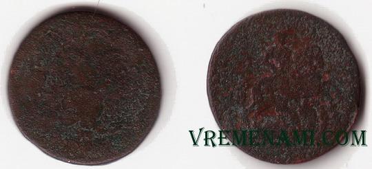 монета всадник на коне