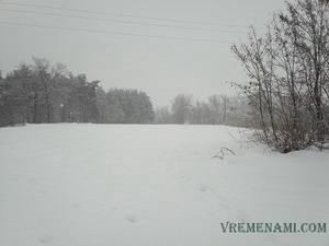 снежная зима 2013