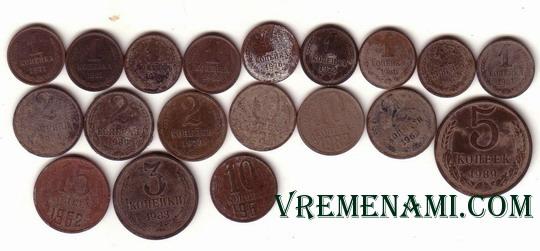 найденные монеты без металлоискателя