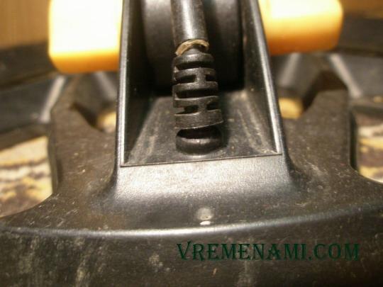 выход провода из катушки