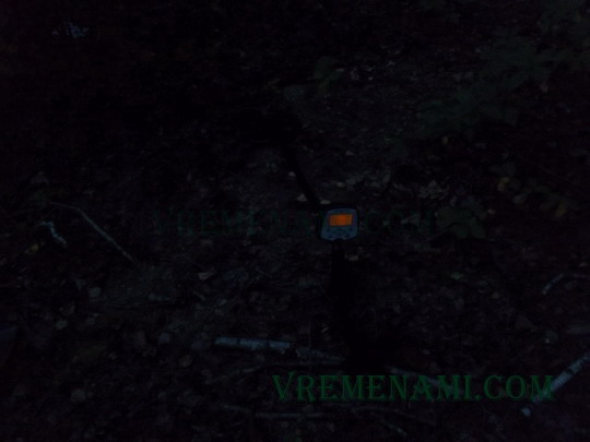 ночной снимок копа