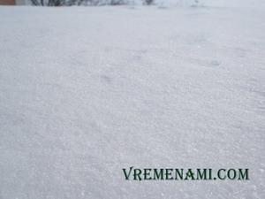 снег 2014 года