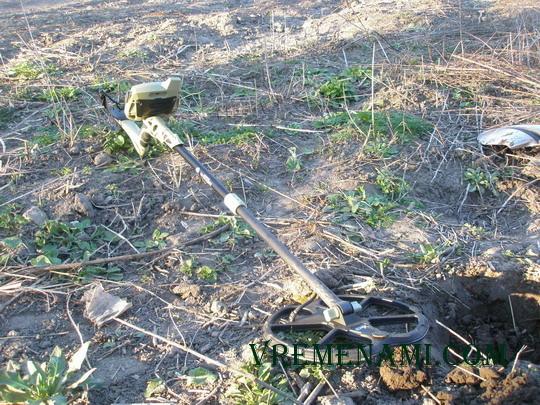 5 копеек выкопанные на огороде металлоискателем Граунд ЕФХ