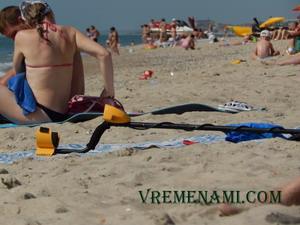 Гарретт 250 на пляже