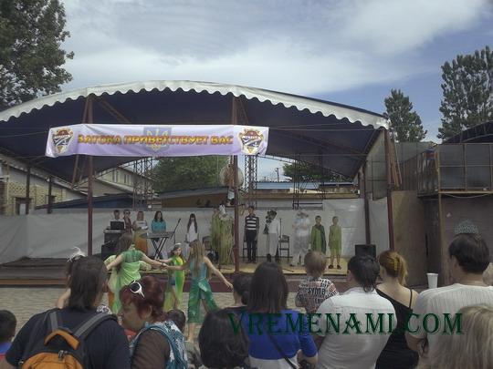 празднование открытие сезона 2014 в пгт Затока