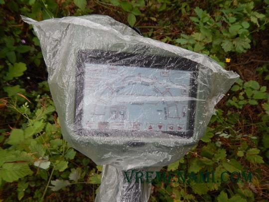 усовершенствование металлоискателя МХ400 для поиска в дождь