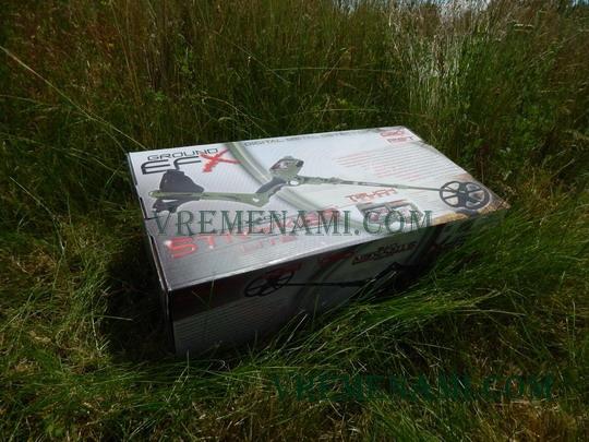 коробка металлоискателя МХ400