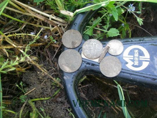 найденные советские монеты АСЕ 250