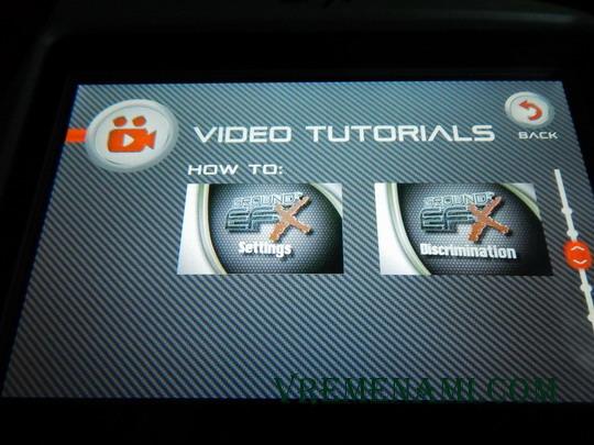 видео-инструкции Граунда МХ400