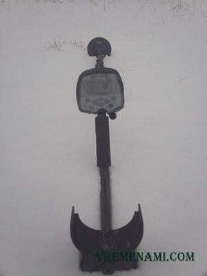 Беркут 5 и NEL SHARP на снегу