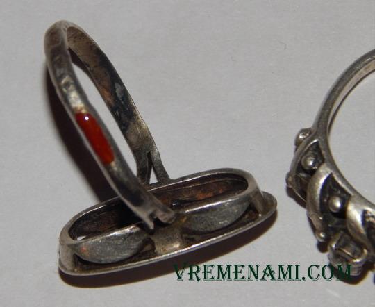 проверка серебряных колец хромпиком
