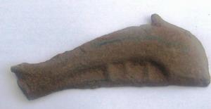бронзовый дельфин