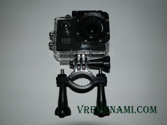 крепление камеры к металлоискателю