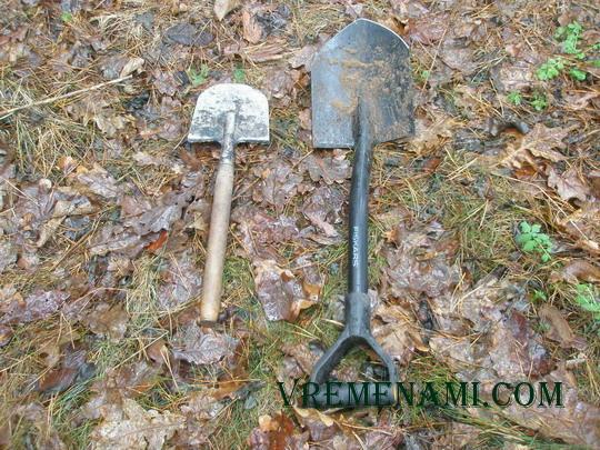 сравнение поисковых лопат для ношения в рюкзаке