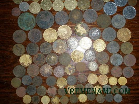 монеты, найденные в 2014 году