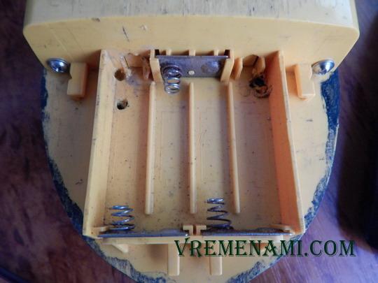 ремонт металлоискателя любителями