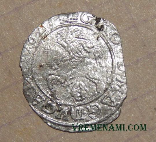 мой грош 1627 года после отмывки