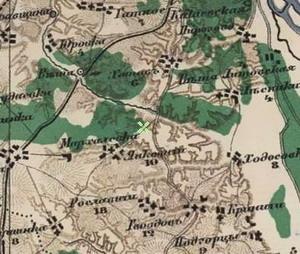 старая карта селения