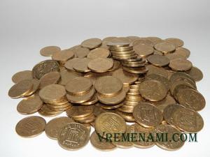 187 штук монет номиналом 1 гривна