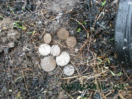 россыпь монет  из 8-ми советиков