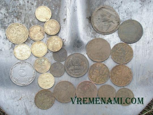 находки монет в выходные