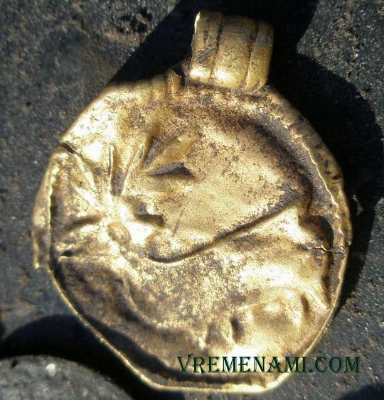 первое золото