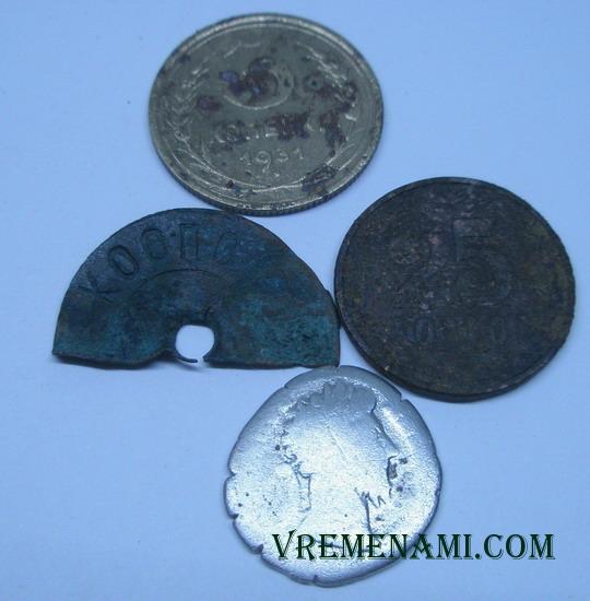мои интересные находки металлоискателем