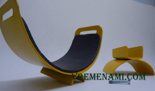 составные части стального подлокотника