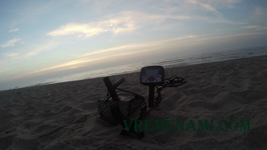 начало пляжного копа