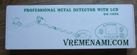 упаковка металлодетектора