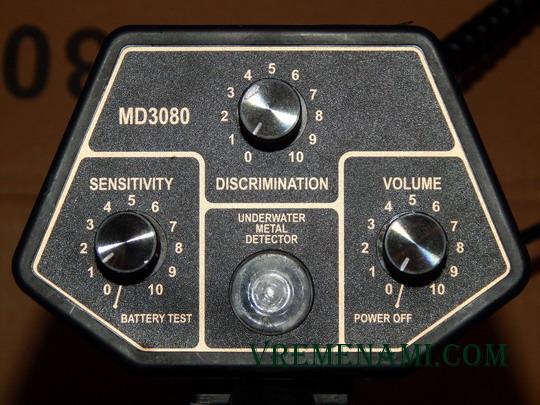органы управления Treker MD-3080