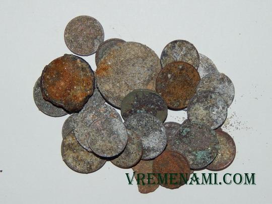 состояние найденных металлоискателем советских монет