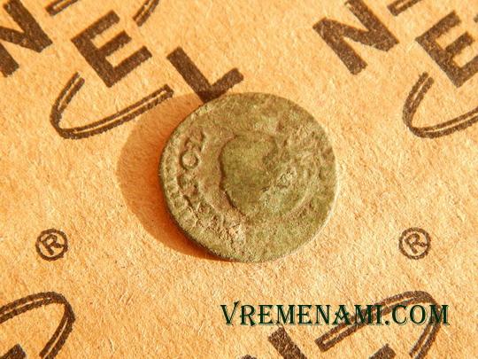 единственная и непонятная монетка найденная металлоискателем