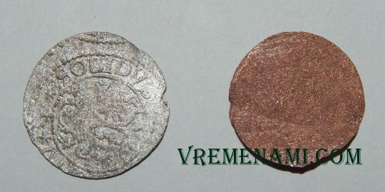 солид и боратинка - монеты речи посполитой