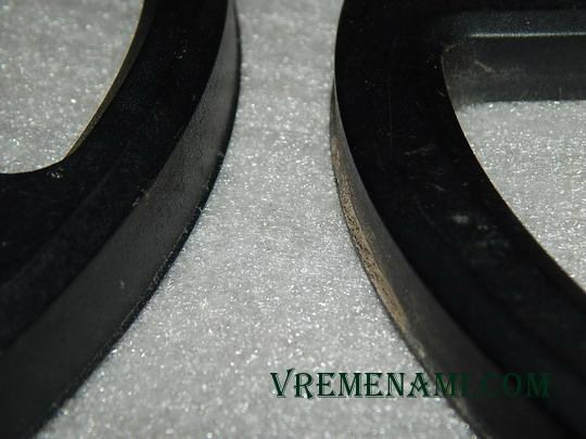 наружный сплошной бортик (слева АКА)
