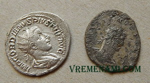 антонианы монеты римские