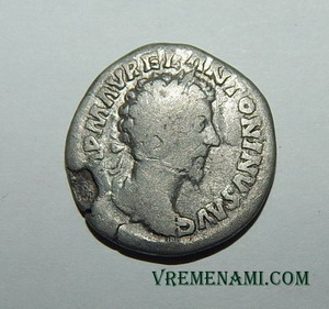 денарий марка аврелия