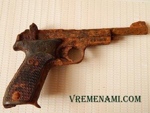 копаный пистолет Марголина