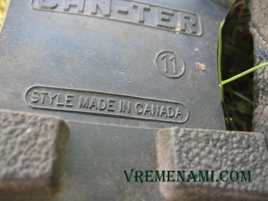 канадская обувь