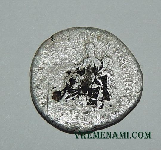реверс серебряной монеты