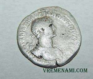 TRAIAN HADRIANO Denarius