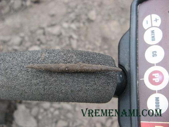 бронзовая проколка ЧК