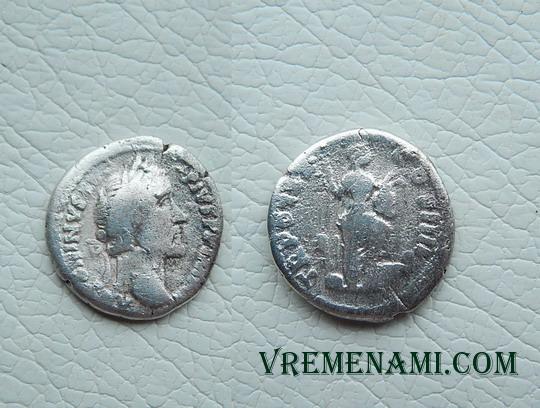 монета после чистки